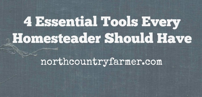 4 Essential Tools Every Homesteader Should Have