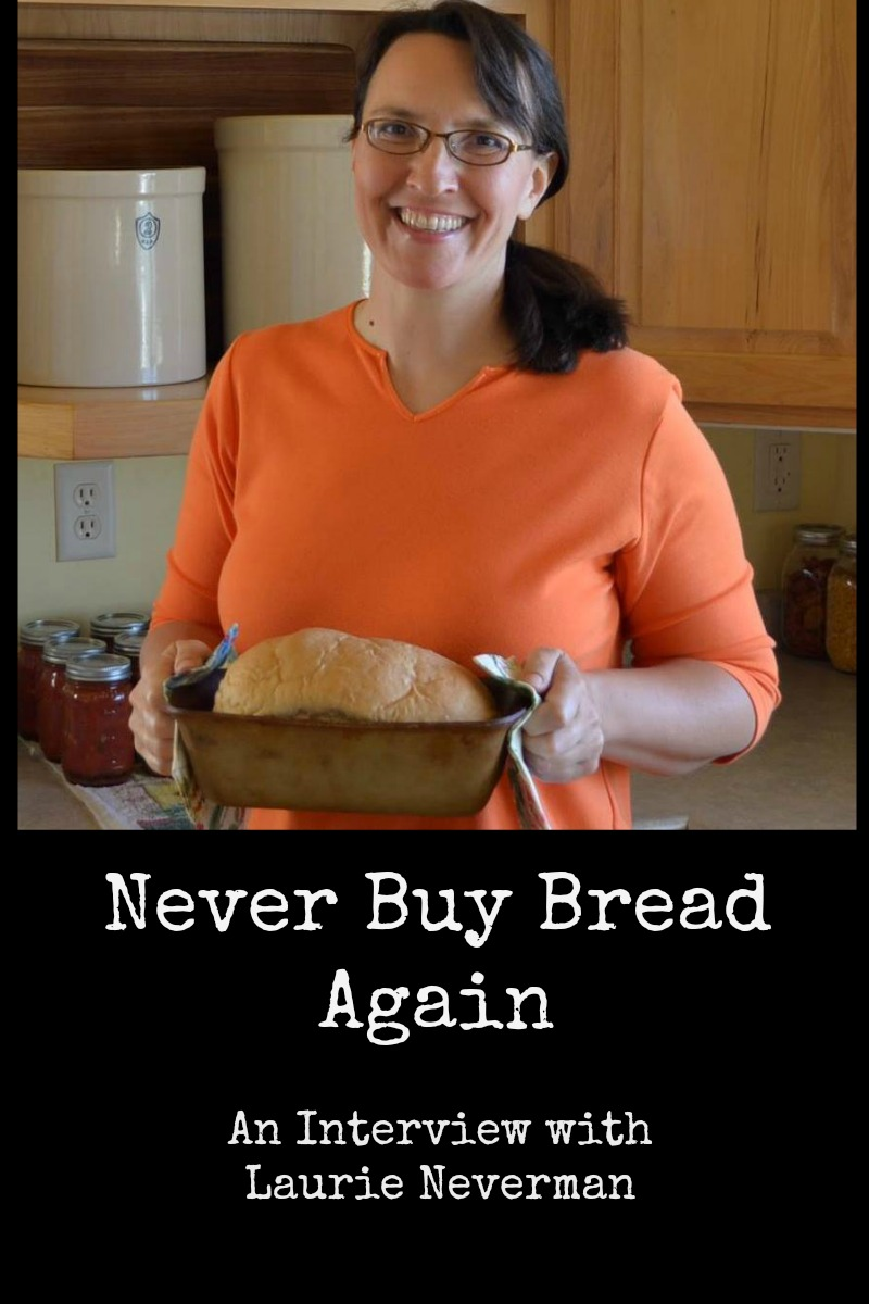 Laurie and I chat about her new bread book
