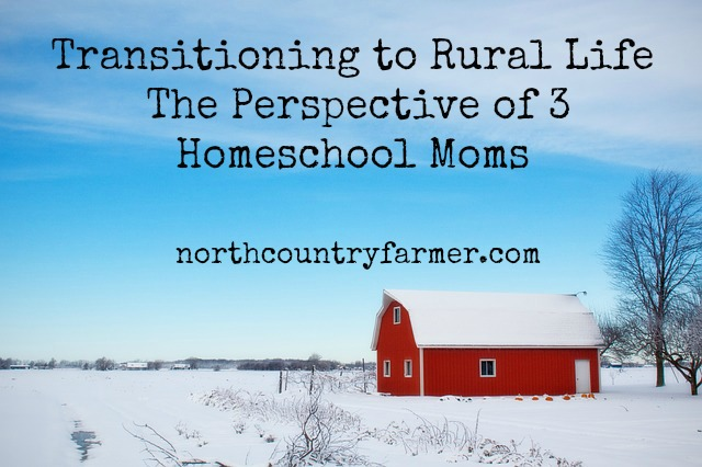 Transitioning to Rural Life, From The Perspective Of 3 Homeschool Moms