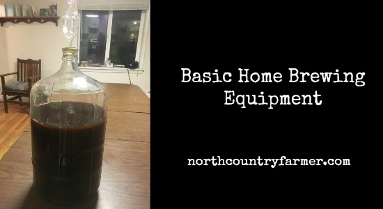 Basic Home Brewing Equipment