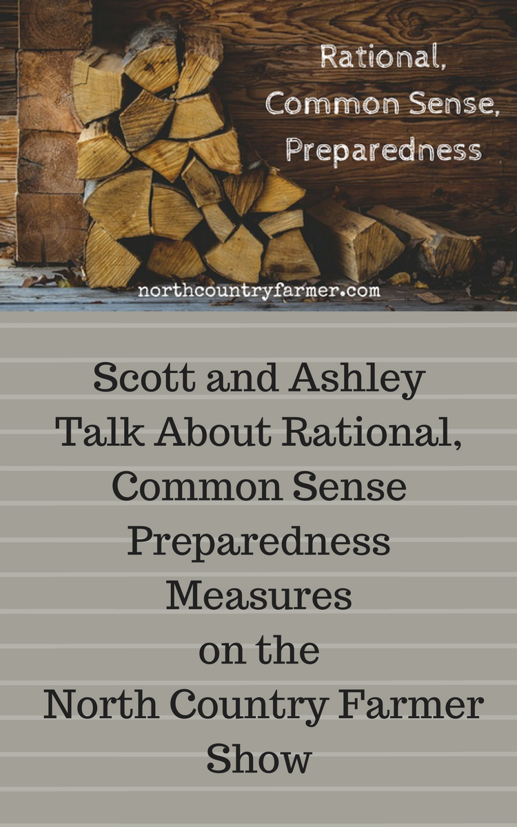 Rational, Common Sense, Preparedness