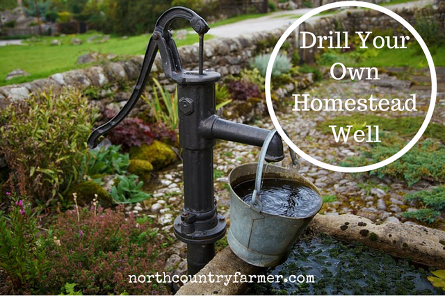 You Can Drill Your Own Homestead Well