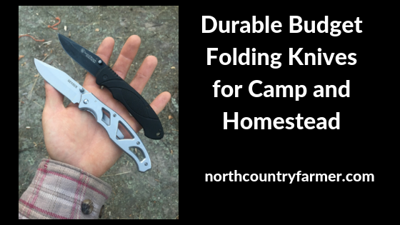 Durable Budget Folding Knives for Camp and Homestead